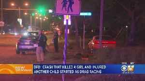 Drag Racing Crash Kills 9-Year-Old, Injures Another Child In Dallas [Video]