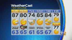 New York Weather: CBS2 5/25 Weekend Forecast [Video]