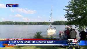 Sailboat Electrocution Fire [Video]