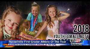 Russellville first grader honored as athlete of the year [Video]