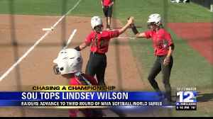 Southern Oregon advances in game one of NAIA Softball World Series [Video]