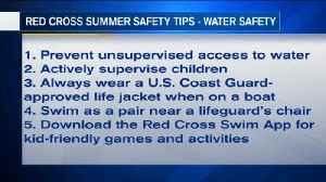 VIDEO: Red Cross releases 15 tips for summer safety [Video]
