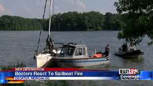 INVESTIGATION UNDERWAY AFTER SAILBOAT FIRE NEAR POINT MALLARD WATER PARK IN DECATUR [Video]