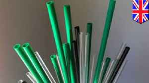 Plastic straws, cotton buds and drink stirrers to be banned in UK [Video]