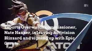 News video: The Overwatch League Commissioner Leaves For Epic Games