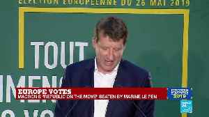 Triumphant post-EU election speech by leader of the French green party, Europe Ecology – The Greens, Yannick Jadot [Video]