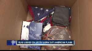 Nampa group works to make sure American flags are disposed of properly [Video]