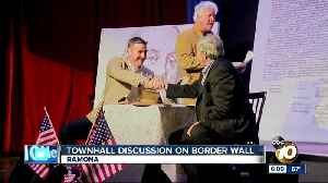 Rep. Duncan Hunter discusses border security in Ramona townhall meeting [Video]