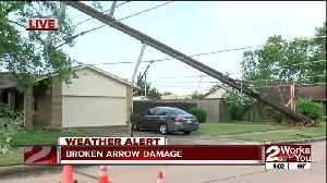 Broken Arrow storm damage [Video]