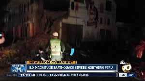 8.0 magnitude earthquake strikes northern Peru [Video]