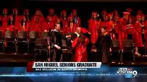 Entire high school class with a 100 percent college acceptance rate graduates today [Video]