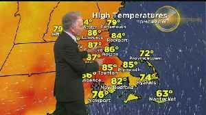 WBZ Evening Forecast For May 25, 2019 [Video]