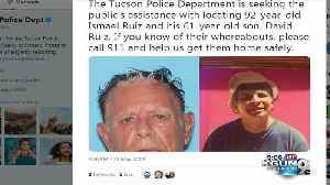 TPD searching for two missing [Video]