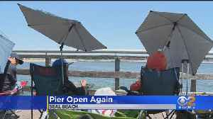 Seal Beach Pier Reopens 3 Years After Devastating Fire [Video]