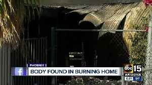 Phoenix firefighters find body while fighting house fire [Video]