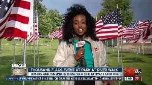 1000 Flags ceremony honors fallen servicemen and women for Memorial Day [Video]