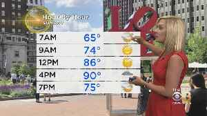 Memorial Day Weekend Weather: Strong Sunday PM T-Storm Watch [Video]