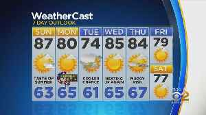 New York Weather: CBS2 5/25 Nightly Forecast at 11PM [Video]