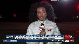 Wind advisory hits Kern County through Memorial Day Weekend [Video]