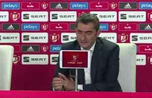 Valverde vows to carry on as Barca's season fizzles out [Video]