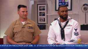 Fleet Week Message From Our Service Members [Video]