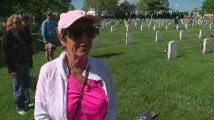 Fort Snelling Volunteers Place American Flags On All Headstones For Memorial Day [Video]