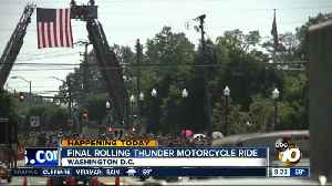 Final rolling thunder motorcycle ride [Video]