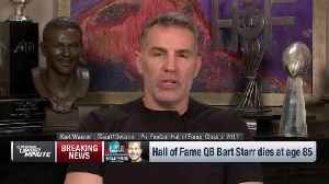 Kurt Warner: Bart Starr will be remembered as the person more than the player [Video]