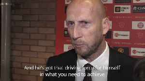 Stam: De Ligt would be a good fit at Old Trafford [Video]