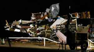 Rescuers Search For Survivors After Oklahoma Tornado