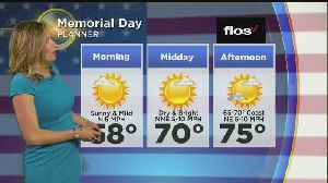 WBZ Afternoon Forecast For May 26 [Video]