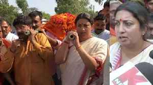 Smriti Irani takes Oath to bring justice to Amethi BJP Worker Surendra Singh's Family |Oneindia News [Video]