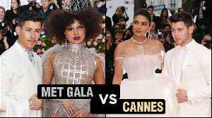 Priyanka Chopra MET GALA Look VS Cannes 2019 Look | Fashion Face Off [Video]