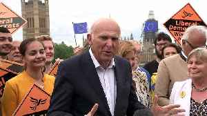 Vince Cable: Now a 'clear majority' who want to stop Brexit [Video]