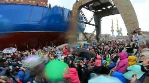 Russia, eyeing Arctic future, launches nuclear icebreaker [Video]