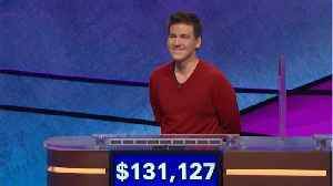 James Holzhauer Wins 27th Straight Jeopardy Game [Video]