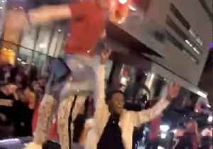 'City Going Nuts:' Raptors Fans Celebrate as Historic Win Sends Team to NBA Finals [Video]