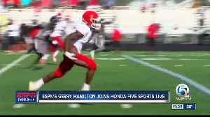 Gerry Hamilton joins Paxton Boyd on Honda Five Sports Live [Video]