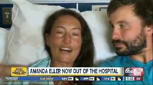 Yoga teacher Amanda Eller, who survived 2 weeks in a Hawaii forest, out of hospital [Video]