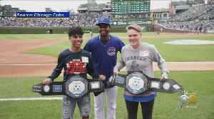 Chicago Cubs And Pepsi Team Up To Surprise Two Student-Athletes [Video]