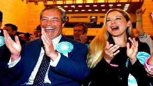 Farage's Brexit party set to win UK seats in European elections [Video]