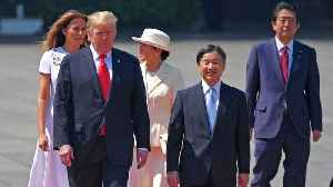 Trump Meets Japan's New Emperor Naruhito