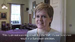 Nicola Sturgeon hails European election result [Video]