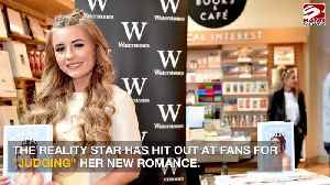 Dani Dyer hits back at romance critics [Video]