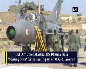 Air Chief Marshal flies MiG-21 to honour Kargil martyr [Video]