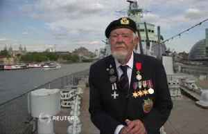 From the bridge of a British warship, an 18-year-old sailor watched D-Day chaos unfold [Video]