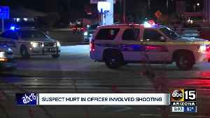 Suspect in critical condition after officer involved shooting in Phoenix [Video]