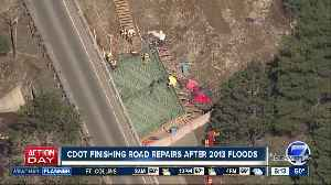 CDOT finishing repairs after 2013 floods [Video]