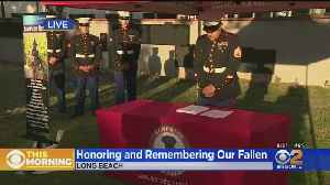 Names Of 7,000 Fallen Heroes Read During Memorial Day Ceremony In Long Beach [Video]