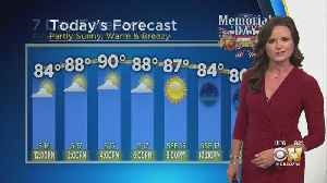Memorial Day Weather Forecast [Video]